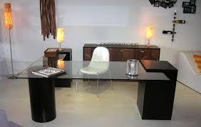 Diy Glass Desk Comfortable Glass Office Desk Thedigitalhandshake Furniture