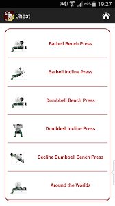 Bench Workout Routine Mega Muscle Gain Workout Free Android Apps On Google Play