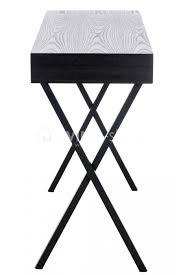 petit bureau noir petit bureau moderne ou petit table drapier noir vente en ligne