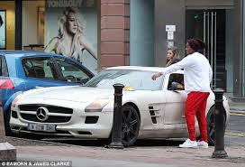 mercedes in manchester manchester united s returns from lunch date to find 60