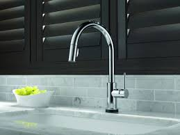 Electronic Kitchen Faucets Faucet Com 9159t Cz Dst Sd In Champagne Bronze By Delta