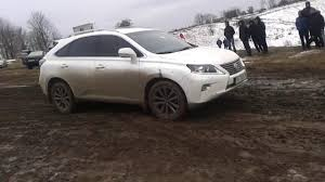 lexus rx 350 price 2015 lexus rx 2015 off road stuck in mud youtube