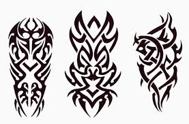 tribal tattoos meaning courage