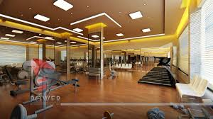 Villa Interior by Indian Gym Interior Design Decorin