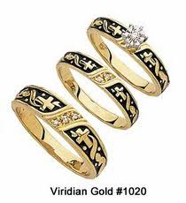christian wedding rings sets antique wedding ring set transitional cut by