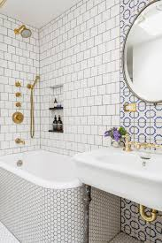 wallpaper designs for bathrooms 3 tips how to mix and match tiles in bathroom viskas apie interjerą