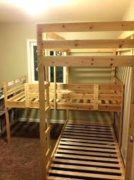 Three Person Bunk Bed 3 Level Bunk Bed Fin Soundlab Club