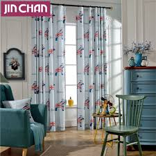 modern cartoon pictures blackout window curtains drapes shades for