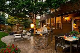 Backyard Landscaping Pictures Gallery Landscaping Network - Backyard grill designs