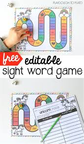 best 25 kindergarten sight word games ideas on pinterest