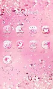 hello go launcher ex theme apk pink bow go launcher theme android apps on play
