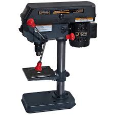 Woodworking Bench Top Drill Press Reviews by Black Bull Dp5ul 5 Speed Drill Press Power Stationary Drill