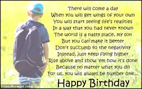 birthday poems for son u2013 wishesmessages com