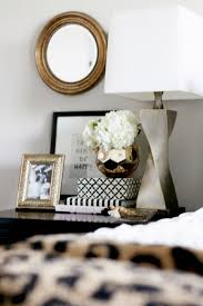 Design For Oval Nightstand Ideas How To Style A Nightstand Nightstands Bliss And Essentials