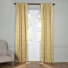 damask curtains u0026 drapes you u0027ll love wayfair