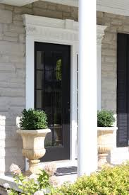 White Front Door Furniture Excellent Image Of Front Porch Decoration Using Single