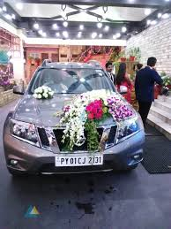 wedding reception decoration at jayaram mandapam pondicherry