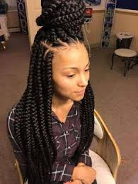 how many bags for big box braids 75 super hot black braided hairstyles to wear poetic justice