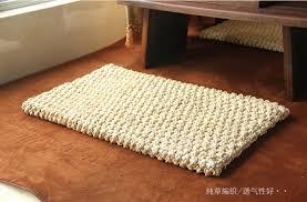 aliexpress com buy modern rustic rectangular floor cushion beige