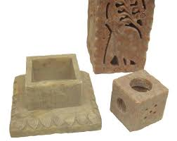 Soapstone Carving Blocks Hand Carved Soapstone Incense Holder Spectrum India 252 Thayer