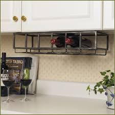 under the cabinet wine rack home design ideas