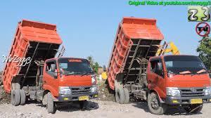truck toyota 2016 let u0027s dumping together dump trucks toyota dyna 130ht youtube