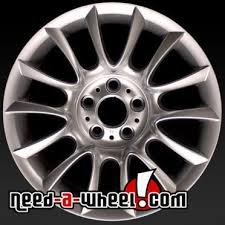 bmw 3 series rims for sale 18 bmw 3 series wheels oem 06 13 rear silver rims 59619