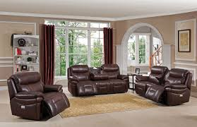 Recliner Living Room Set Summerlands Ii Brown Adjustable Headrest Power Reclining Living