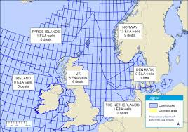 North Sea Map What Is Causing North Sea Drilling Slump World Maritime News