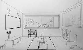 dessiner une chambre en perspective gallery of dessiner la perspective 1 le point de fuite meilleure