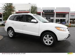 hyundai santa fe limited 2009 2009 hyundai santa fe limited 4wd in powder white pearl 230662