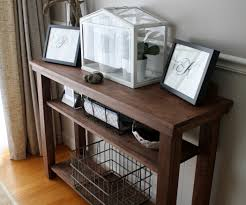 build a dining room console table side or serving table 5 steps