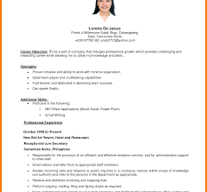 sle resume for ojt tourism students pretty sle resume for ojt hrm pictures inspiration exle