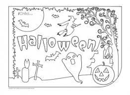 halloween placemat ichild