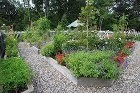 Backyard Raised Garden Ideas Garden Ideas Backyard With Table And Unbrella Garden Design