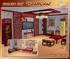 Chinese Living Room Furniture Set Mod The Sims Chinese Set