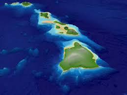 Hawaii Island Map Main Hawaiian Islands Multibeam Bathymetry Synthesis