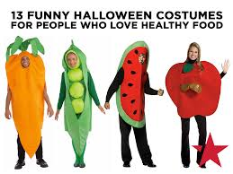 love healthy food and dressing up for halloween combine the two