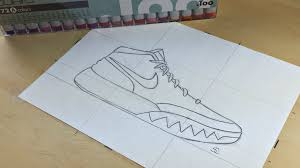 drawn sneakers kyrie 2 pencil and in color drawn sneakers kyrie 2