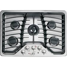 Kitchenaid Gas Cooktop 30 Shop Ge Profile 5 Burner Gas Cooktop Stainless Steel Common 30