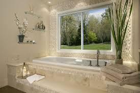 Travertine Bathtub Modern Master Bathroom With Drop In Bathtub By Scott Tenhulzen