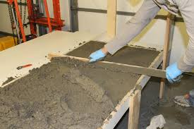 remodelaholic diy concrete countertops in a beautiful master