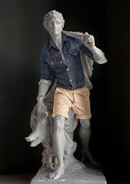 ancient greek gods statues models for hipster clothes the daily