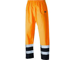 dickies high visibility two tone trousers sa1003 dickies