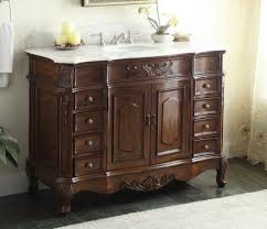 Old Fashioned Bathroom Pictures by Adelina 48 Inch Old Fashioned Antique Look Bathroom Vanity