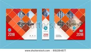 cover design corporate brochure template magazine stock vector