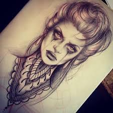 the 25 best woman face tattoo ideas on pinterest joker face