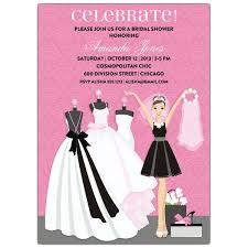 pink bridal shower invitations pink bridal shower invitations with