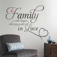 wall stickers about family