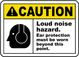 ansi z535 table 130 7 f ear protection must be worn sign i2409 by safetysign com